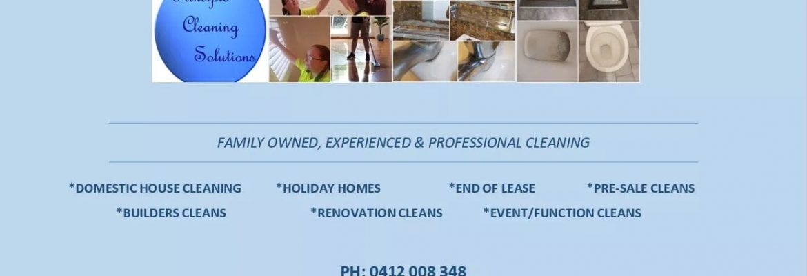 Principle Cleaning Solutions